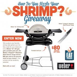 Eat Shrimp & Weber Social Contests