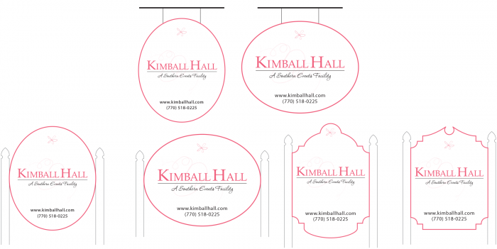 Kimball Hall Signs