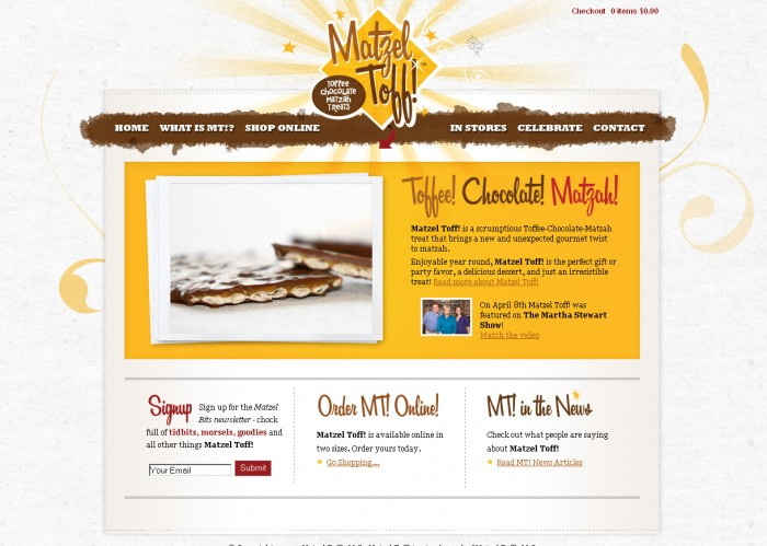 Matzel Toff Website