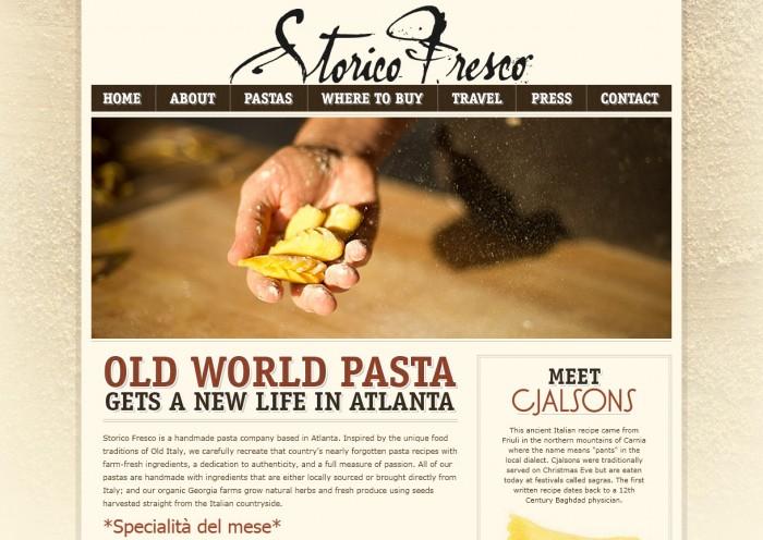 Storico Fresco Website